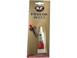 K2 PROLOK HIGH TYPE 271 - 6 ml - fixátor šroubových spojů (červený)