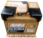 Autobaterie AUTOPART GALAXY GOLD 12V 52Ah 480A EN