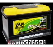 Autobaterie ZAP Plus 12V 65Ah 640A EN 56530