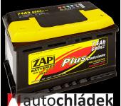 Autobaterie ZAP Plus 12V 74Ah 680A EN 57412