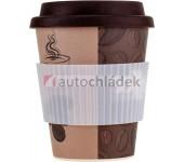 Bambusový nápojový hrneček 280 ml coffee