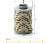 Filtr oleje servořízení  P919/7 VOLVO F10,F12