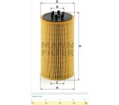 Filtr oleje HU13125x MAN TGA od r.v. 2003