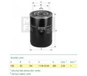 Filtr oleje LF4112