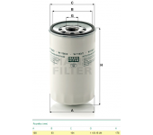 Filtr oleje W1160/2 RVI KAROSA