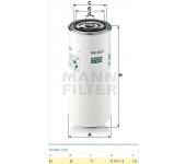 Filtr paliva SP648/M