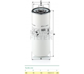 Filtr paliva WDK11102/11 RVI,VOLVO