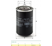 Filtr paliva WDK940/5 DAF 65-75-85-95 od roku 9/1996