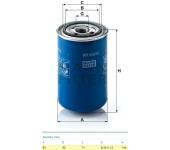 Filtr paliva WK940/12 SCANIA, RVI, IRIZAR