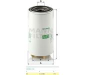 Filtr paliva WK940/36x