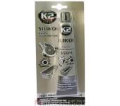 K2 SILICONE BLACK 85 g - silikon pro utěsnění části motoru při montáži