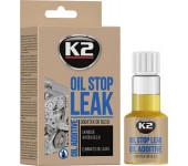 K2 STOP LEAK OIL 50 ml - zamezuje únikům oleje z motoru