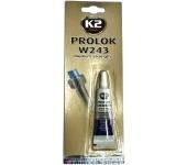 K2 PROLOK MEDIUM TYPE 243 - 6 ml - fixátor šroubových spojů (modrý)