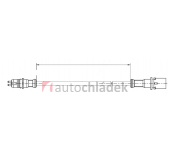 Kabel prodlužovací ABS 2,3 m
