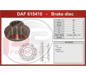 Kotouč brzdový DAF 45 přední včetně ABS kroužku