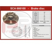 Kotouč brzdový SCANIA 124, SCANIA 144 430x45x131 mm