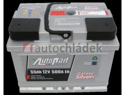 Autobaterie AUTOPART GALAXY SILVER 12V 55Ah 500A EN