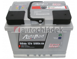 Autobaterie AUTOPART GALAXY SILVER 12V 60Ah 590A EN