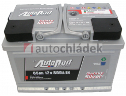 Autobaterie AUTOPART GALAXY SILVER 12V 85Ah 800A EN