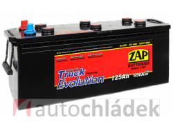 Autobaterie ZAP Truck Professional 12V 125Ah 690A EN 62513