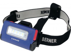 BERNER LED svítilna PEN LIGHT mikro USB + čelovka s nabíječkou + kabel