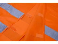 COMPASS Vesta výstražná oranžová XXL, EN 20471:2013