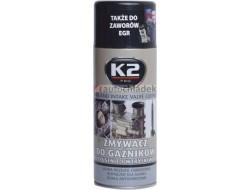 K2 ČISTIČ VENTILŮ, KARBURÁTORŮ A VSTŘIKOVAČŮ 400 ml