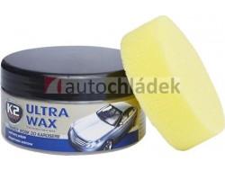 K2 ULTRA WAX 250 g - konzervační pasta na obnovu lesku karoserie