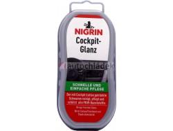 NIGRIN COCKPIT QUICK-SHINE - čistící houbička s emulzí na plastové a kožené povrchy