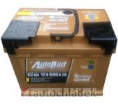 Autobaterie AUTOPART GALAXY GOLD 12V 62Ah 600A EN