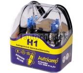 AUTOLAMP Žárovka H1 12V 55W P14,5s XENON BLUE 2 ks
