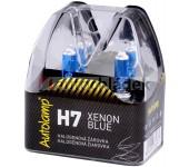 AUTOLAMP Žárovka H7 12V 55W PX26d XENON BLUE 2 ks