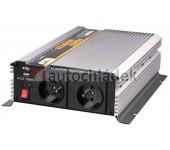 CARSPA Měnič napětí z 24V DC na 230V AC 1600W trvale