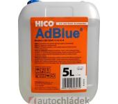 HICO AdBlue 5 l - plastový kanystr s výtokovým nástavcem