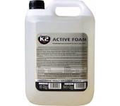 K2 ACTIVE FOAM 5 kg - vysoce pěnící produkt pro mytí vozidel