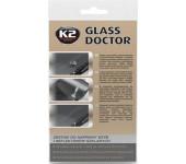 K2 GLASS DOCTOR 0,8 ml - sada na opravu čelního skla a světlometů