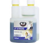 K2 TEXAR 2T STROKE 500 ml - motorový olej polosyntetický