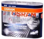 OSRAM Žárovka H1 12V 55W P14,5s NIGHT BREAKER UNLIMITED+110% 2 ks