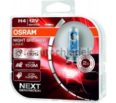 OSRAM Žárovka H4 12V 60/55W P43t NBL NEXT GENERATION +150% 2ks
