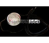 Svítilna poziční LED červená 12V/24V