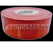 Páska reflexní červená samolepící - plachta