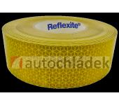 Páska reflexní žlutá samolepící - plachta