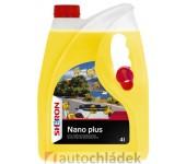 SHERON Letní kapalina do ostřikovačů 4 l Nano Plus s nálevkou