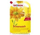 SHERON Letní kapalina do ostřikovačů Softpack -5°C 2 l Citron