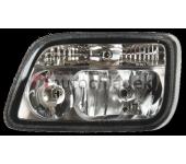 Světlomet hlavní s motorkem levý MB Actros MPII