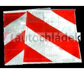 Vlaječky pro hydraulické čelo - pár
