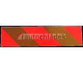 Samolepka reflexní tahač 560x132mm - pár