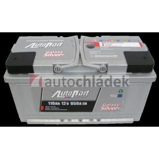 Autobaterie AUTOPART GALAXY SILVER 12V 110Ah 950A EN