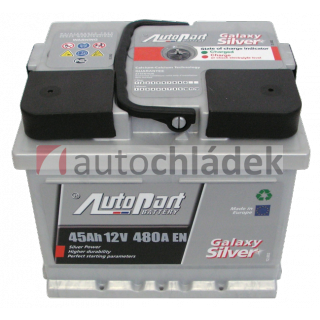 Autobaterie AUTOPART GALAXY SILVER 12V 45Ah 480A EN