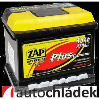Autobaterie ZAP Plus 12V 45Ah 370A EN 54558